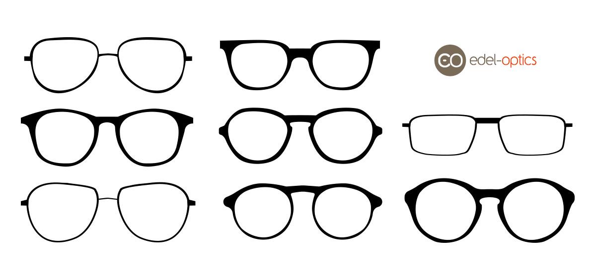 Hvilken brille passer til din ansigtsform? Edel Optics Blog